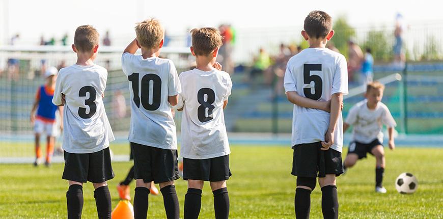 Risco de Lesões em Crianças em Treinamento Esportivo